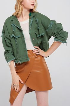 Anna Distressed Jacket Discover the latest fashion trends online at storets.com