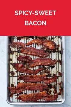 Spicy-Sweet Bacon | Get the recipe for Spicy-Sweet Bacon.