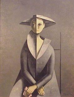 Cubist artist, Duilio Barnabe.