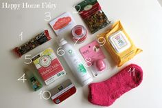 New Mommy Survival Kit | Happy Home Fairy
