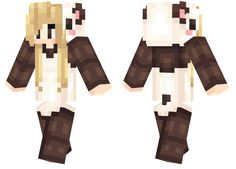 Panda Onesie Minecraft Girl Skins, Minecraft Stuff, Minecraft Ideas, Panda Outfit, Mojang Minecraft, Mc Skins, Fandom Games, Nice Handwriting, Onesies