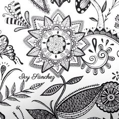 Mandala - Flower   #art #arte #artist #artwork #artoftheday #blackink #draw #drawing #design #doodle #zentangle #zendoodle #flowers #flowerzentangle #ink #inkart #love #pen #paint #creative #handmade #original #mandala #tattoodesign #loveart #painting