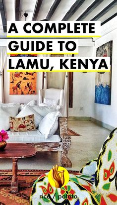 The highlight of our Africa trip: Lamu, Kenya! Heaven for interior design inspiration, beautiful Swahili villas and fantastic people.