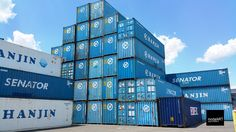40' Hanjin Shipping Container Sale in New Jersey