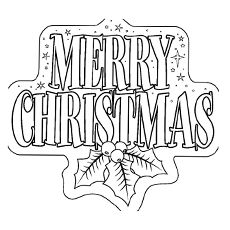 giant christmas coloring pages - photo#33
