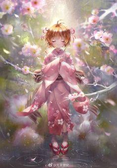 Sakura Kinomoto y pororo Cardcaptor Sakura, Sakura Card Captor, Sakura Kinomoto, Syaoran, Otaku Anime, Manga Anime, Kawaii Anime Girl, Anime Art Girl, Sakura Anime