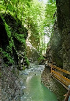 Rappenlochschlucht Eastern Alps, near Dornbirn, Austria