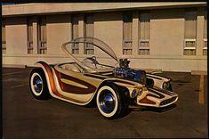 Ed Big Daddy Roth Beatnik Bandit custom fiberglass car body
