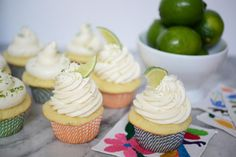 Margarita Cupcakes by Trophy Cupcakes.