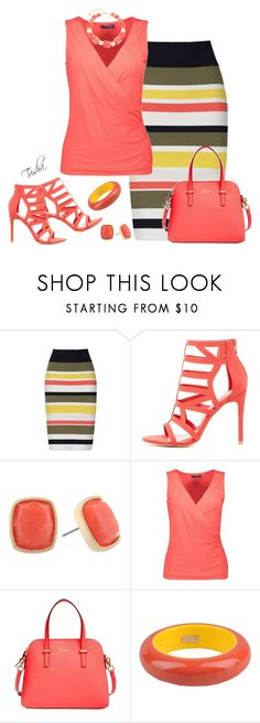 """""""Summer 2017"""" by pkoff ❤ liked on Polyvore featuring Bailey 44, Charlotte Russe, Monet, Kate Spade, Dsquared2 and Gloria Vanderbilt"""