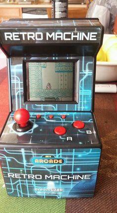 A Gameboy Color installed in a Retro Machine. Brilliant!