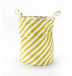 Roomblush opbergmand stripes geel