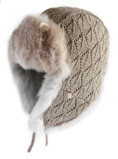 Fantastic Alpaca Fur Trapper Hat. Handmade in Peru with real Alpaca Fur  Flaps ac11416051c1