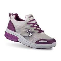 Gravity Defyer Womens GDefy Galaxy Gray Purple Athletic Shoes 5 M US *** Read more  at the image link.