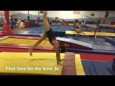 Three Creative Stations for Teaching Cartwheels-Patti's All-American-Dyer - YouTube