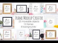 Frame Mockup Scene Creator ~ Product Mockups ~ Creative Market