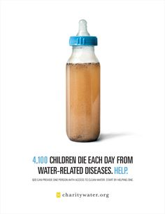 This is a gorgeous simple poster design with a nice color scheme. It is eye catching because of the baby bottle, and is truly an example of great design.