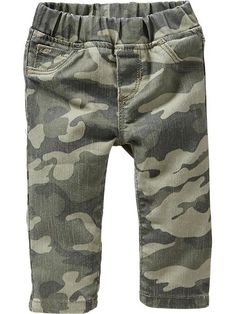 Pull On Camo Jeggings