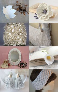 White trends by Norma Ricaldone on Etsy--Pinned with TreasuryPin.com