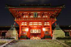 Shrine at night | Flickr - Photo Sharing!