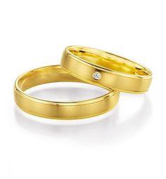 #Verlobungsring.de Wundervolle Trauringe Honeymoon Gold #Verlobung #Hochzeit #Liebe #wedding #ring #love | | BREEDIA - verlobungsring.de