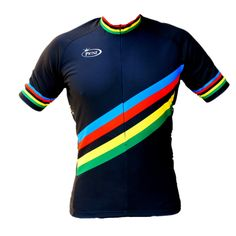 PRINZ-WORLD-CHAMPION-BLACK-Unique-Cool-Cycling-Jersey-S-XXXL-FROM-EUROPE