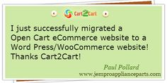 Thinking of website migration? Check up what people say about Cart2Cart #testimonials #ecommerce #cart2cart