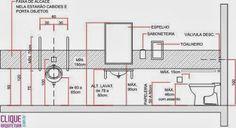 Arquitetando com Ariane Rosa: Banheiros Adaptados: como construir banheiros para deficientes físicos / cadeirantes