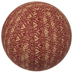 Yoga Ball Cover Size 55 Design Red Rhapsody - Global Groove (Y) Birthing Ball, Nag Champa Incense, Boho Home, Romantic Gifts, Cover Size, Decoration, Yoga, Red, Woven Cotton