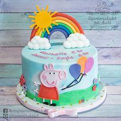 Celebrating Jenny-Sophie and Nathalie's birthday with a chocolate Peppa Pig cake, Hipp hipp hurra og mye sjokolade for Jenny-Sophie og Nathalie! Peppa Pig, Pepper, Barn, Birthday Cake, Chocolate, Desserts, Instagram, Food, Birthday Cakes