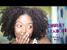Super Cute Braid and Curl Tutorial Ft. Eden BodyWorks Products - YouTube