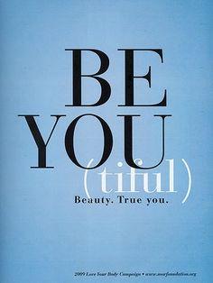 BeYoutiful. Beauty. True you.