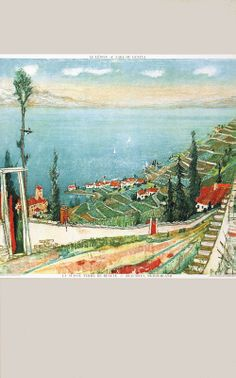 Alois Carigiet 1944 Hans Christian, Landscapes, Poster, Ipad, Painting, Switzerland, Artist, Advertising, Products