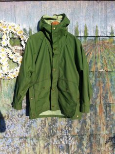Super Rare Vintage 70's KELTY Green Hooded by ElliottBayVintage, $84.00