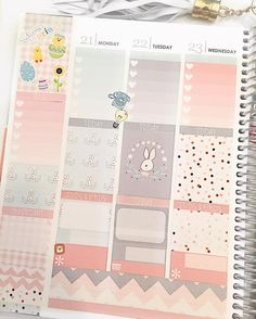 Beginning of next week before the pen! Look at this adorable Easter kit from @planningroses (shops tagged) #planner #plannerlove #plannersticker #plannersgonnaplan #planneraddict #plannerjunkie #plannergeek #eclp #plannergirl #floridaplanner #planwithme #plan #plannernerd #planstagram #washitape #washiaddict #allthewashi #easter #easterweek #easterstickers by mommasgottaplan