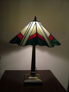 Stained Glass Tiffany-Style Lamp - by Linda J. McGarvey from Glass ...