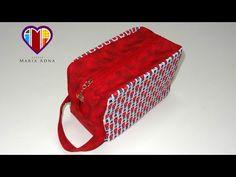Bolsa necessaire em tecidos Inglesa - Maria Adna Ateliê - Aula de bolsa necessaire em vídeo - YouTube