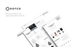 Dotco - Portfolio / Agency Theme by mycode on Creative Market