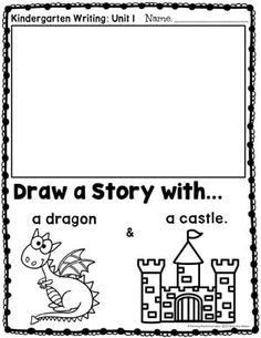 131 Best Kindergarten Writing Prompts images