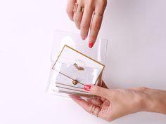 ビニール生地で作るクリアカードケース - CANDIY   シティガールのDIYレシピ&ツールのセレクトショップ