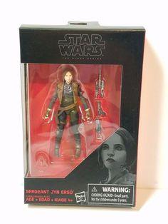 Star Wars Black Series 3.75 Sergeant Jyn Erso Walmart Exclusive Action Figure #Hasbro