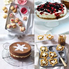It's a wonderful time of year to get in the kitchen and whip up the ultimate Christmas indulgences. We've selected 14 of our favourite Christmas bakes.