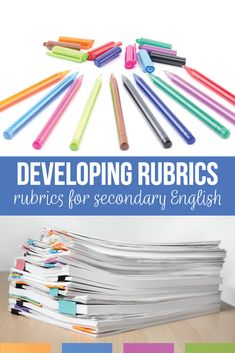 ELA teachers will create a language arts rubric for public speaking, writing, & reader responses. Creating a rubric well will help with any part of secondary English. ELA rubrics should be specific & purposeful with non-confusing rubric language that students will understand. Add sensible language arts rubrics to your secondary English class. English Lesson Plans, English Lessons, Ap English, English Reading, Teaching Strategies, Writing Strategies, Writing Resources, Writing Ideas, Writing Skills