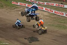 Chad Wienen, Joël Hetrick and... Thomas Brown on the way to the moon ! Unadilla ATV MX Championship round 7, Number One ATV