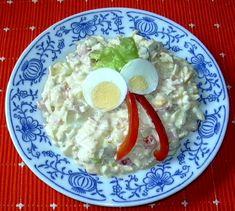 Vaječný salát :: Domací kuchařka - vyzkoušené recepty New Menu, Grains, Toast, Breakfast, Food, Party, Ideas, Salads, Breakfast Cafe