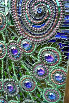 Mosaic Peacock Chest of Draws by Nikkinella, via Flickr