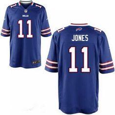 20d0ece11 Men s Buffalo Bills Sammy Watkins Jersey  Nike Home Game Jersey.  Jerseysdrop · nfl jersey