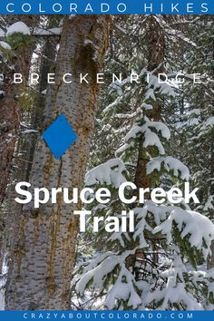 Spruce Creek Trail loop is beautiful in each season. Starting off meandering through a forest of pines with the added option of hiking to Mohawk Lakes above treeline it's truly Colorado at its best. Located in stunning Blue River, CO near Breckenridge, CO you can't go wrong. Canada Travel, Travel Usa, Travel Tips, Snowboard, Best Hiking Gear, Day Hike, Family Adventure, Outdoor Woman, Outdoor Activities
