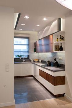 Pozostałe, Nowoczesne mieszkanie w Katowicach Flat Screen, Interior Design, Kitchen, Furniture, Home Decor, Design Interiors, Cooking, Homemade Home Decor, Flat Screen Display