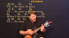 I'll Fly Away (Gospel) Mandolin Cover Lesson with Chords/Lyrics
